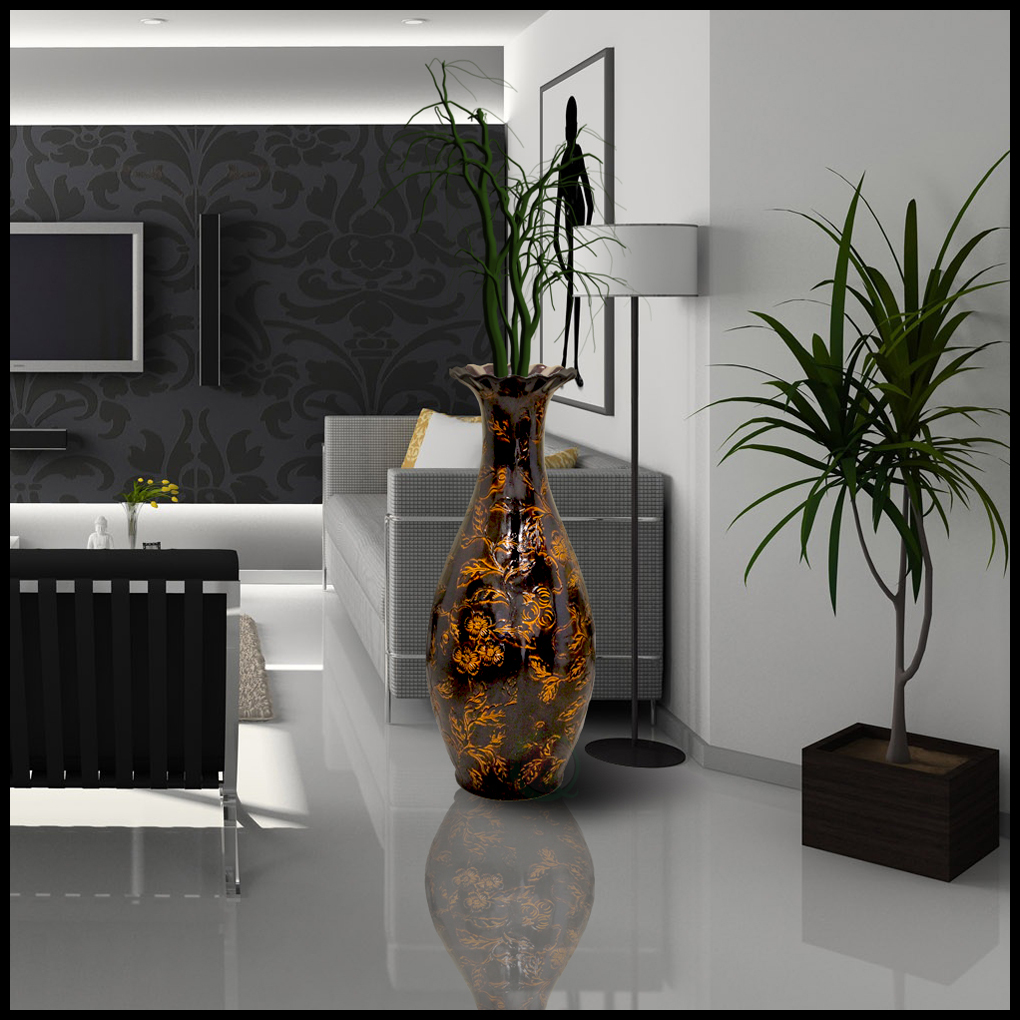 3 All Time Favorite Floor Vases for Living Room - Quickway Imports Inc